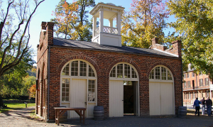 The engine house at Harper's Ferry